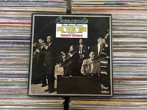 """LP Earl Hines - Crescendo - Earl """"Fatha"""" Hines - Duplo - Importado"""