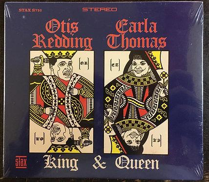 CD Otis Redding & Carla Thomas - King & Queen - Digipack - Lacrado