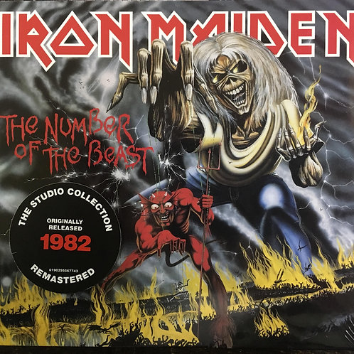 CD Iron Maiden - The Number Of The Beast - Digipack - Lacrado