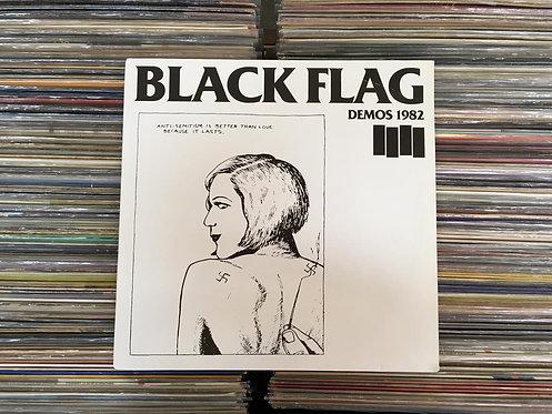 LP Black Flag - Demos 1982 - Importado