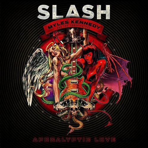 CD + DVD Slash - Apocalyptic Love - Digipack - Lacrado