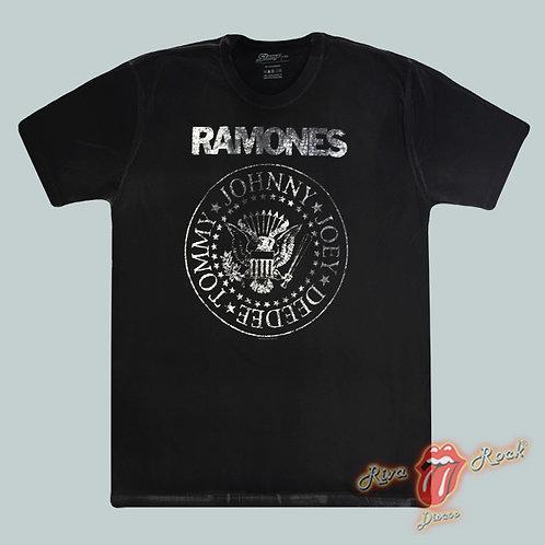 Camiseta Ramones - Símbolo - Stamp Especial