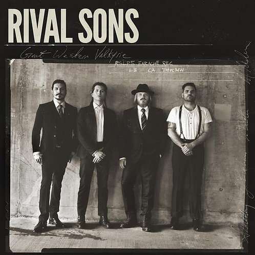 CD Rival Sons - Great Western Valkyrie - Paper Sleeve - Lacrado