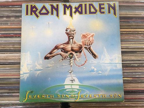 LP Iron Maiden - Seventh Son Of A Seventh Son - Com Encarte