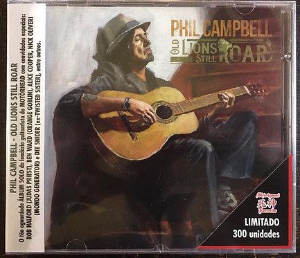 CD Phil Campbell - Old Lions Still Roar - Lacrado