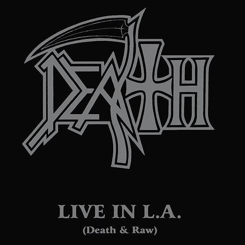 CD Death - Live In L.A. (Death & Raw) - Importado - Lacrado