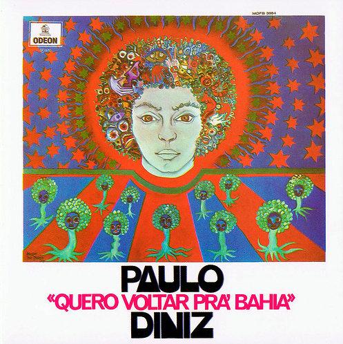CD Paulo Diniz - Quero Voltar Pra Bahia - Lacrado