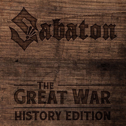 CD Sabaton - The Great War (history Edition) - Digipack - Lacrado