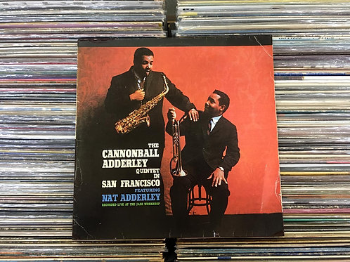 LP The Cannonball Adderley Quintet In San Francisco