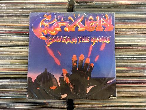 LP Saxon - Power & The Glory