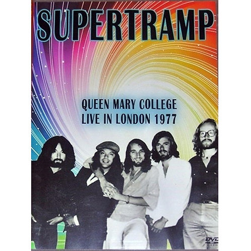 DVD Supertramp - Queen Mary College Live In London 1977
