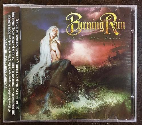 CD Burning Rain - Face The Music - Lacrado