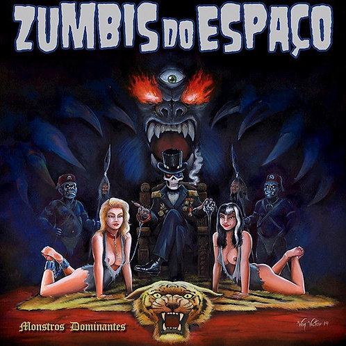 CD Zumbis Do Espaço - Monstros Dominantes - Digipack - Lacrado