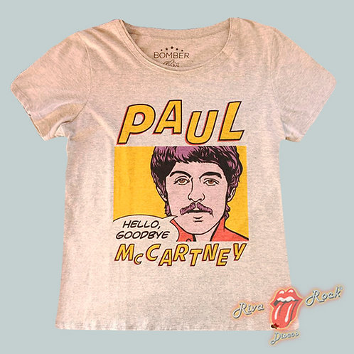 Camiseta Baby Look Paul McCartney - Hello Goodbye - Bomber Classics