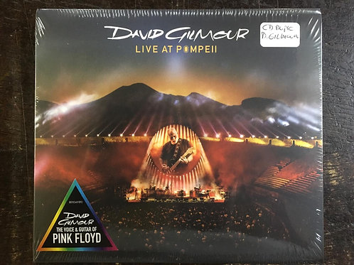 CD David Gilmour - Live At Pompeii - Duplo - Digipack - Lacrado