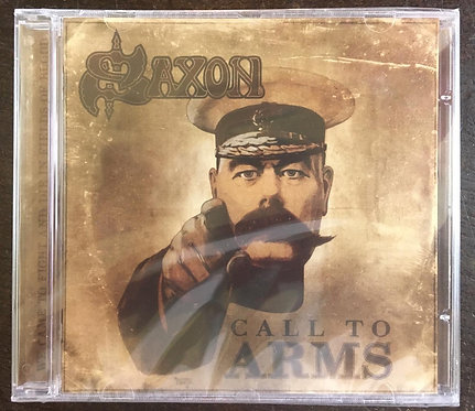 CD Saxon - Call To Arms - Importado - Lacrado