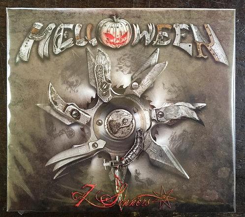 CD Helloween - 7 Sinners - Digipack - Lacrado