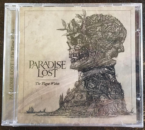 CD Paradise Lost - The Plague Within - Lacrado