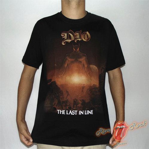 Camiseta Dio - The Last In Line - Stamp