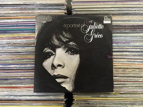 LP Juliette Gréco - A Portrait Of Juliette Gréco