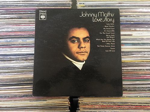 LP Johnny Mathis - Love Story
