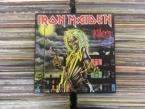LP Iron Maiden - Killers - Japonês - C/Encarte e Faixa Bônus