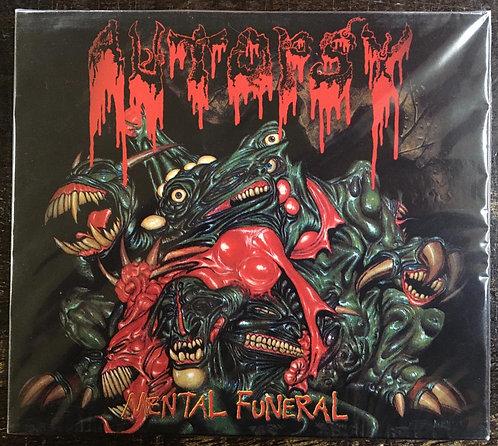 CD Autopsy - Mental Funeral - Duplo - CD + DVD - Lacrado