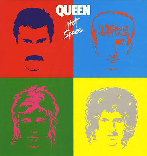 CD Queen - Hot Space - Lacrado