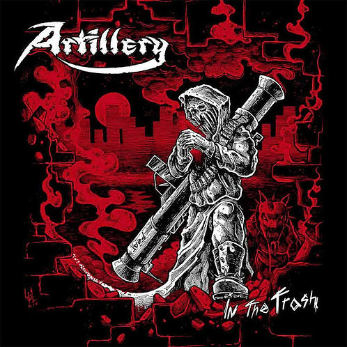 CD Artillery - In The Trash - Lacrado