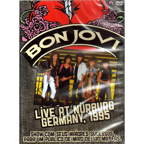 DVD Bon Jovi - Live At Nurburg, Germany 1995 - Lacrado