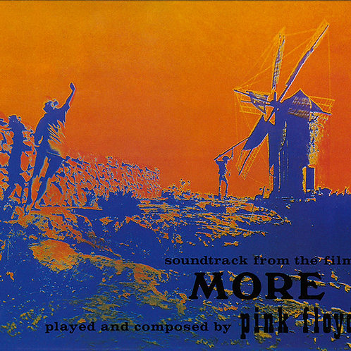 CD Pink Floyd - Music From The Film More- Digifile - Lacrado