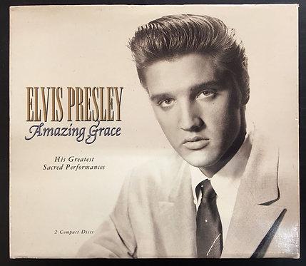 CD Elvis Presley - Amazing Grace - Duplo - Importado