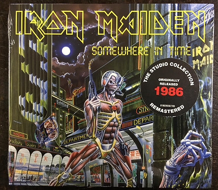CD Iron Maiden - Somewhere In Time - Digipack - Lacrado