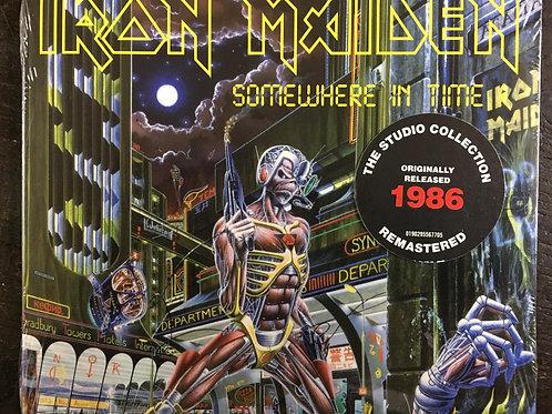 CD Iron Maiden - Somewhere In Time - Digipack - Lacrado