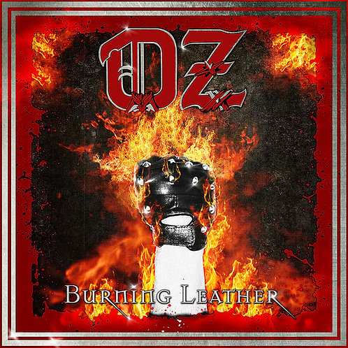 CD Oz - Burning Leather - Digipack - Lacrado