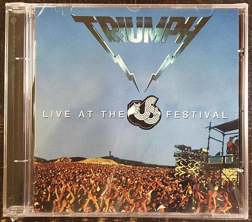 CD Triumph - Live At The Us Festival - Lacrado