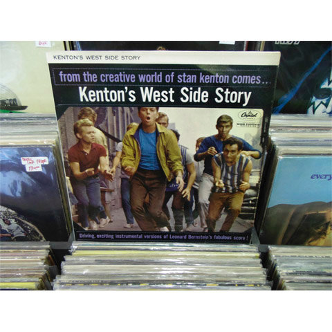 LP Stan Kenton - Kenton's West Side Story - Importado