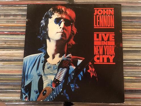 LP John Lennon - Live In New York City - C/encarte