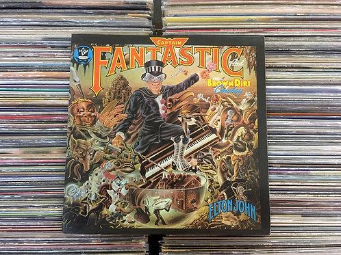 LP Elton John - Captain Fantastic And The Brown Dirt Cowboy