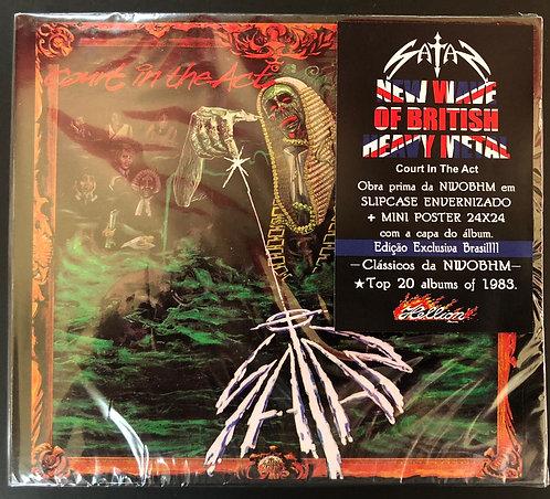 CD Satan - Court In The Act - Slipcase - Lacrado