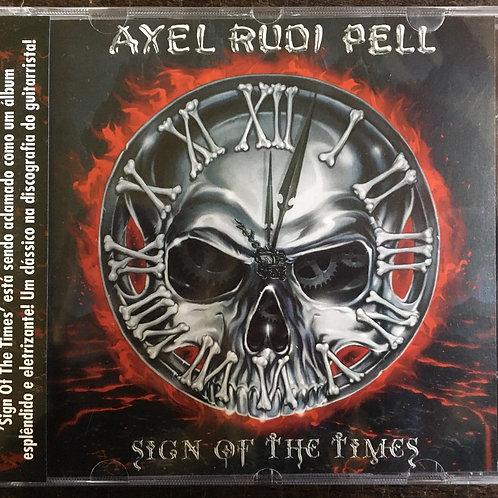 CD Axel Rudi Pell - Sign Of The Times - Lacrado