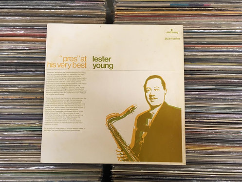 LP Lester Young - Pres At His Very Best - Importado