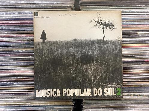 LP Música Popular Do Sul 2 - Vários Artistas - Capa Dupla