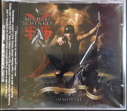 CD The Michael Schenker Group - Immortal - Lacrado