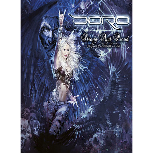 DVD Doro - Strong And Proud (30 Years Of Rock And Metal) - Triplo - Lacrado