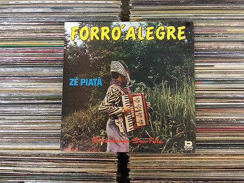 LP Zé Piatã - Forró Alegre - Embalando Seu Fole