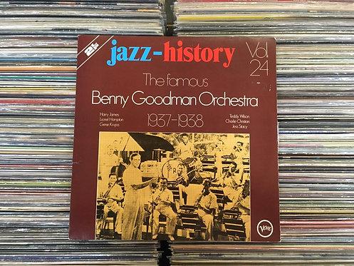 LP Benny Goodman - Jazz-history Vol. 24 - Duplo