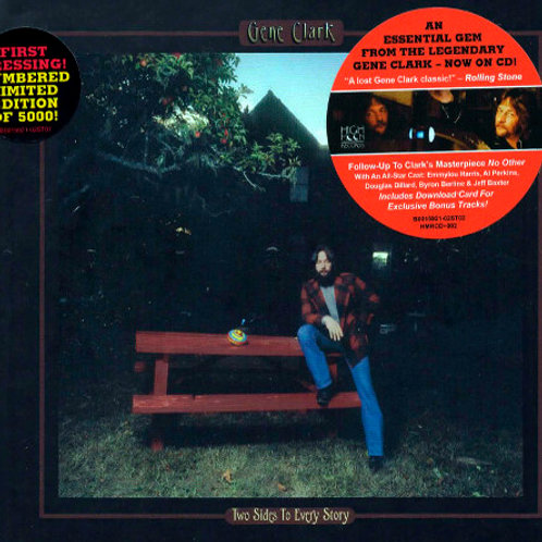 CD Gene Clark - Two Sides To Every Story - Importado