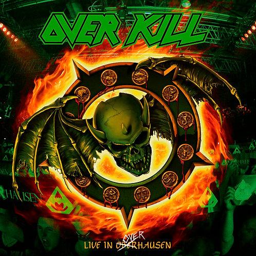 CD Duplo + Dvd Overkill - Live In Overhausen - Digipack