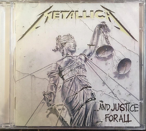 CD Metallica - ... And Justice For All - Lacrado